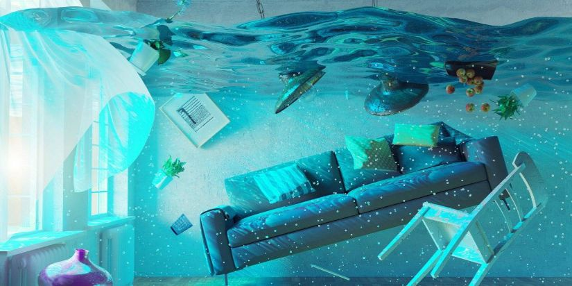 Water Damage Cleaning in Cleburne, Texas (4616)
